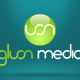 Logo design for Gluon Media Marketing Group