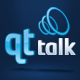 Logo design for QT Talk